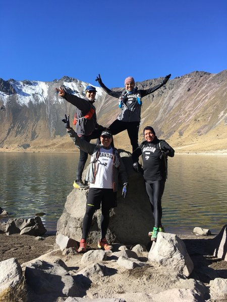 Altitude training at Nevado de Toluca has never looked more fun!