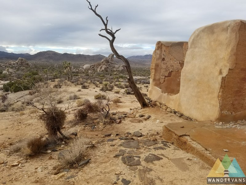 Ryan Ranch, in Joshua Tree National Park, offers fantastic views of its expansive desert surroundings.