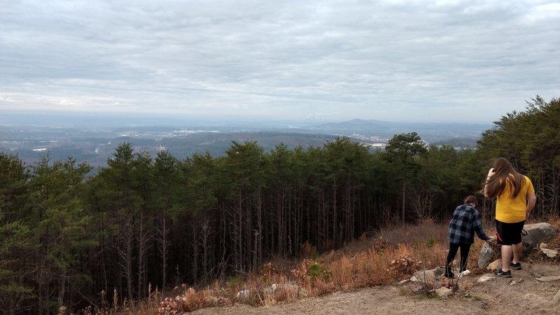 Archer Overlook West toward Euharlee, GA