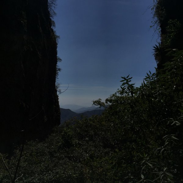 This is one of many views on the way up to El Tepozteco.