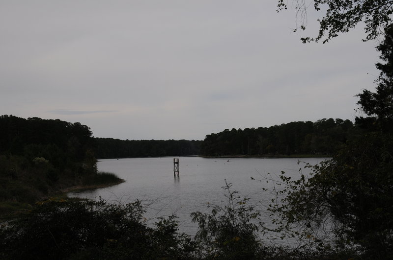 Lake Raven makes for a great trailside companion in Huntsville State Park.