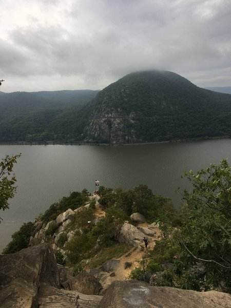 Breakneck Ridge offers great views of Cold Spring, NY and the mighty Hudson River.