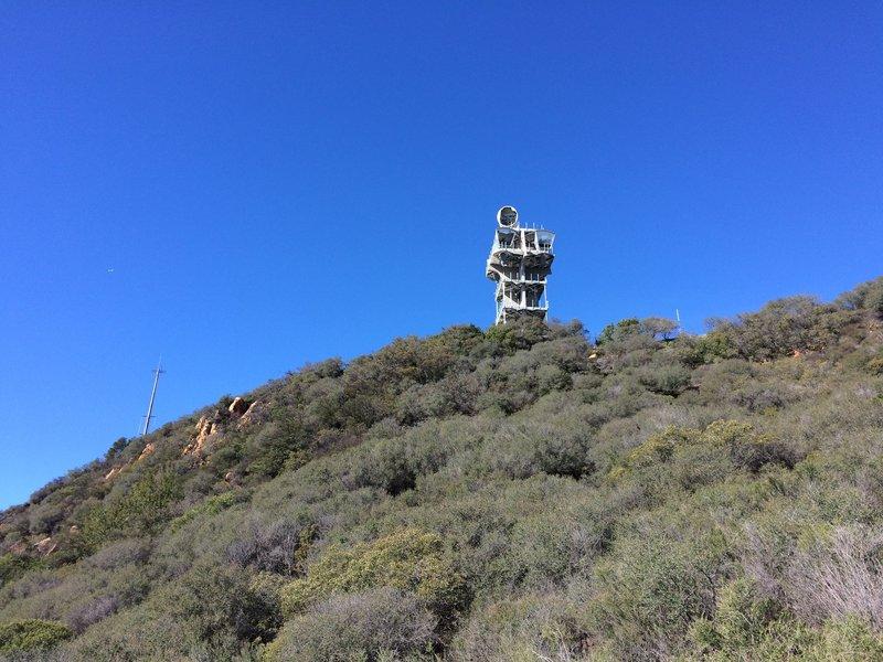 The Topanga Microwave Tower.