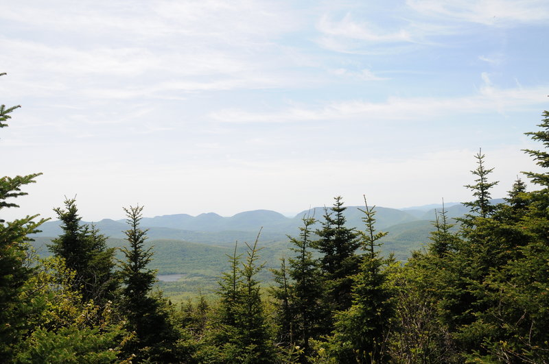 Gorgeous views await from the summit of Black Dome.