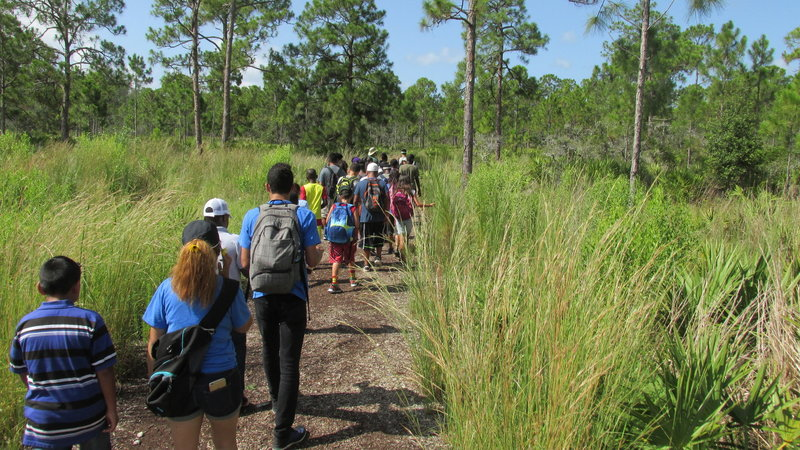School children have a field day looking for and learning about gopher tortoises!