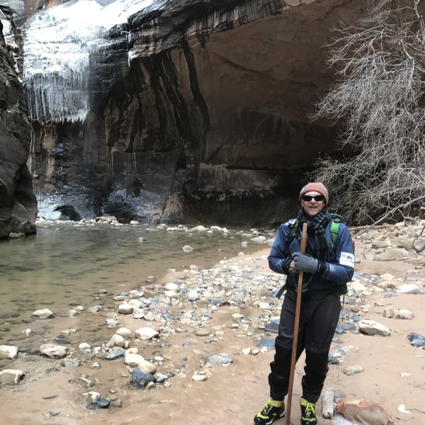 Winter is a fabulous time to hike at The Narrows - we only ran into 4 other people along the way. Wear a drysuit if you own one, as the water can be quite cold!