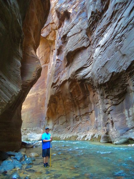 The Narrows is one of the coolest hikes ever!