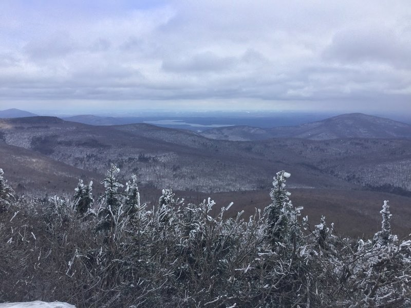 Experience amazing views of the Ashokan Reservoir from the Peekamoose and Table Trail!