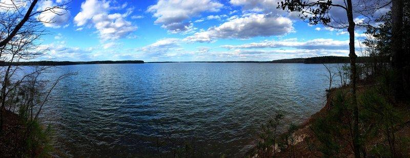Jordan Lake feels both vast and serene at the same time.