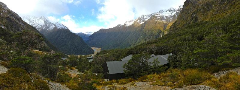 Falls Hut provides phenomenal views of your colossal surroundings.