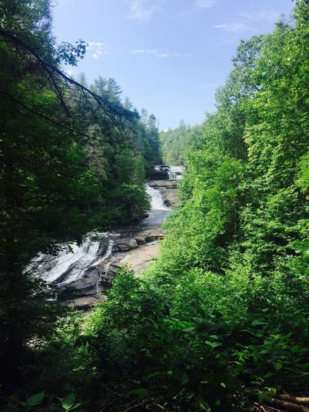 Triple Falls in the summer.