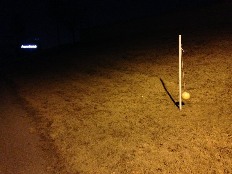Fancy a game of Tetherball? Enjoy one along the Skelly Bypass Neighborhood Trail.