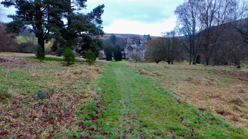 Glen House - the start and end of walk
