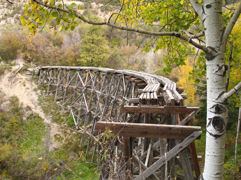 Mexican Canyon Railroad Trestle is both beautiful and a feat of engineering.