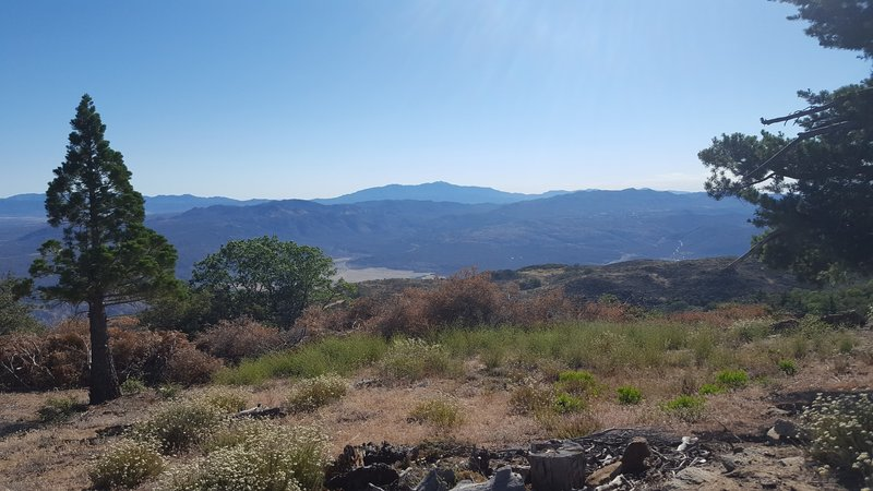 Enjoy this view of San Jacinto from the peak of Palomar Mountain.