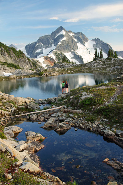 Head to Tapto Lakes for a sublime spot to take in the evening light.