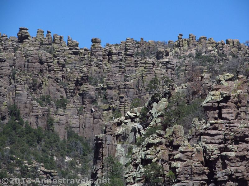 Stunning spires and rock formations can be seen from the Sarah Deming Trail.