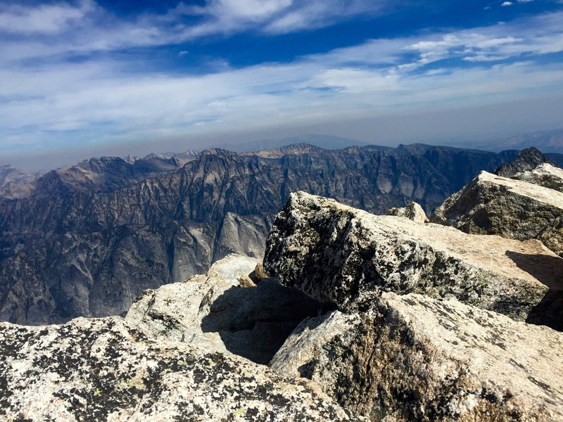 Top of Trapper Peak, Montana -elevation 10,157
