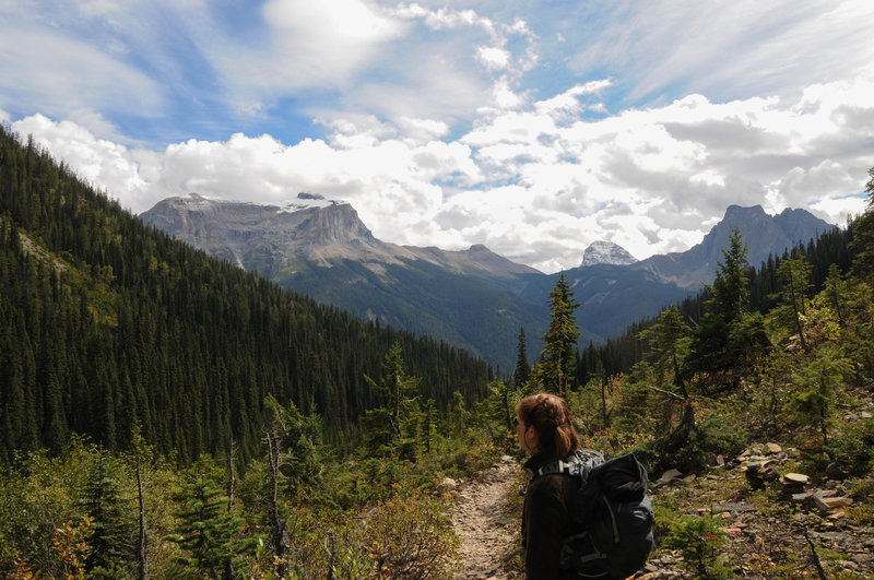 Leaving the gorgeous views from Emerald Basin in Yoho National Park is never easy.