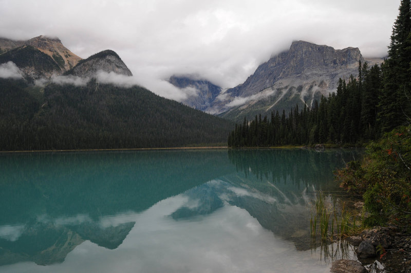 The early morning reflections in Emerald Lake are worth the earlier alarm.