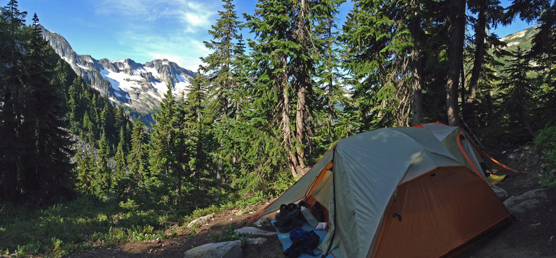 Enjoy stellar camping at Whatcom Pass!