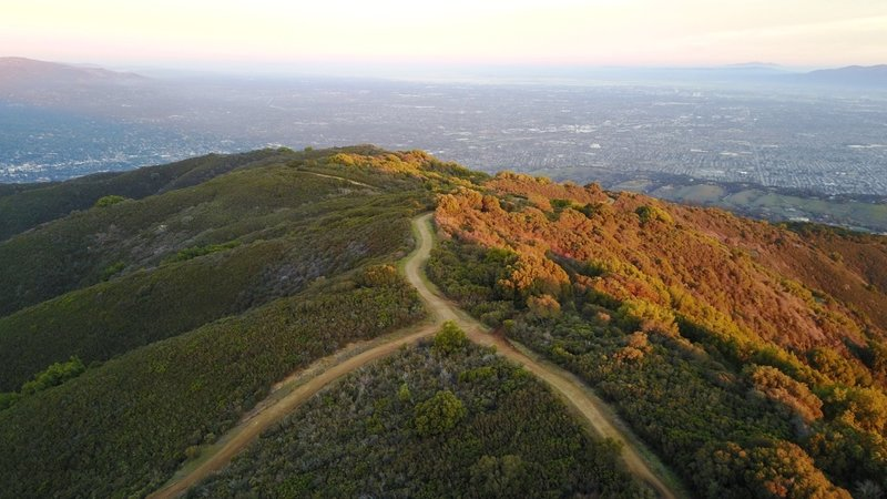 Enjoy stunning views from the Priest Rock / Kennedy Trail intersection.