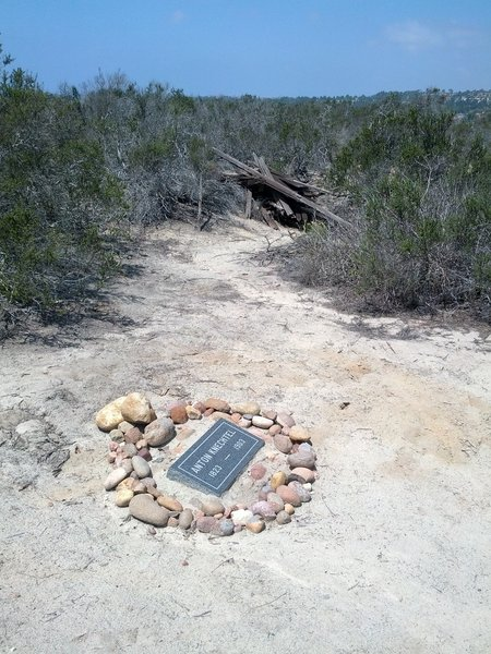 Please respect the gravesite of Anton Knechtel (1823-1903), an early farmer in Little Shaw Valley.