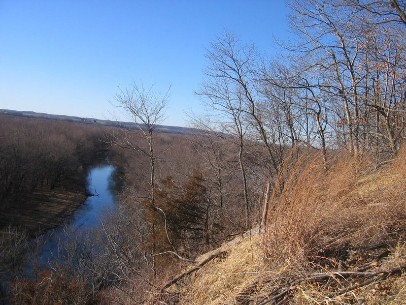 Hill Prairie overlooks the Mississippi River Backwaters.