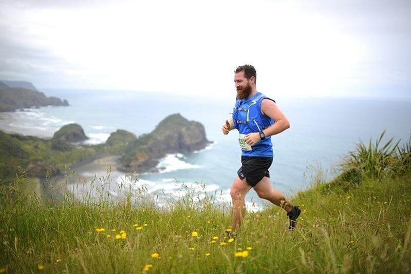 It's smiles all around while running on the Te Henga.