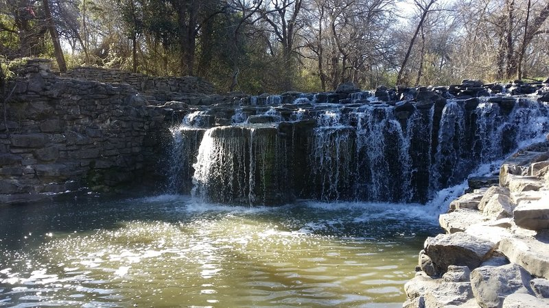 Prairie Creek Waterfall provides a wonderful spot for a lunch break or some quiet reflection.