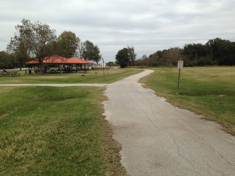 The Cullen Park Groeschke Complex sits just off to the side of the Cullen Park Bike and Hike Trail.