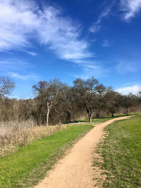 Make your way out to this part of the park for a few nice picnic tables and a smooth trail.