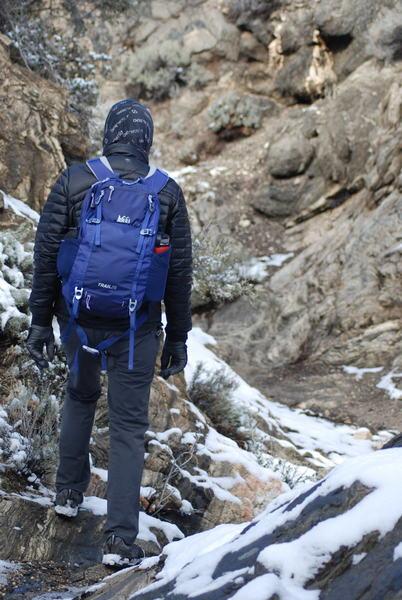 Into Black Rock Canyon we go.