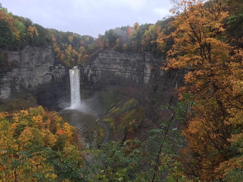 Taughannock Falls is sublime in the autumn.