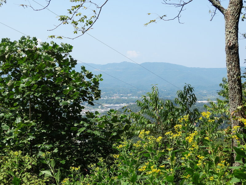 Enjoy gorgeous valley views from Tri-State Peak.