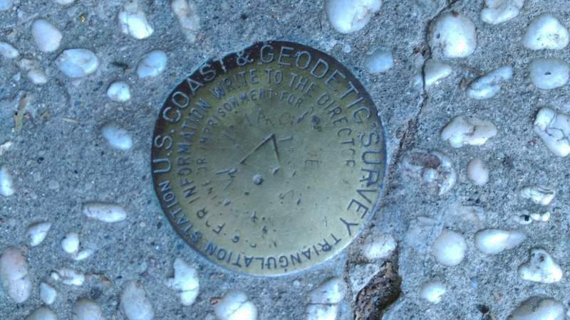 Check out the Tri-State Peak Survey Marker while you're up there.
