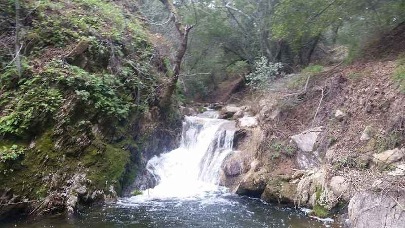 Enjoy peaceful waterfalls along the Big Falls Trail.