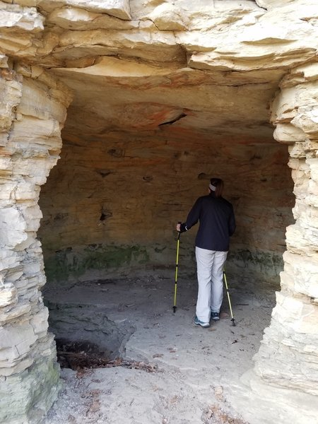 Check out this cave along the Cave Trail.