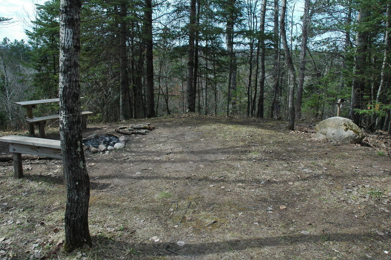 Jersett Creek Campsite is located on the North Country Trail between Solon Springs and Highland Town Hall.