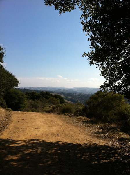 Find some shade on the Live Oak Trail and bask in the view.