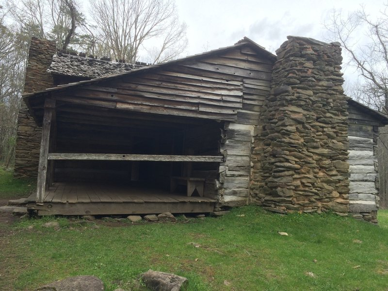 The Walker Sisters' Cabin is a beautiful, tulip-poplar-beamed structure that stands as a monument to a rich piece of Smoky Mountain history.