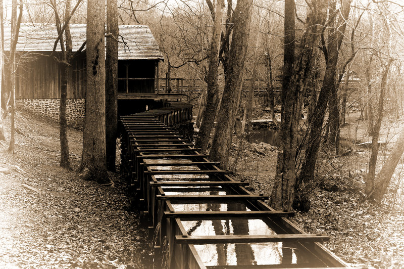 The John Wesley Hall Gristmill is a must see along the Gristmill Trail.