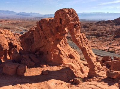 Elephant Rock Loop Hiking Trail, Moapa Valley, Nevada