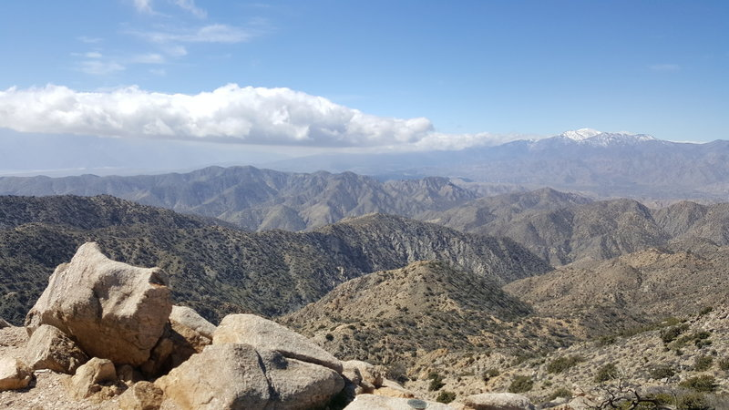 Revel in this awesome view from Warren Peak!