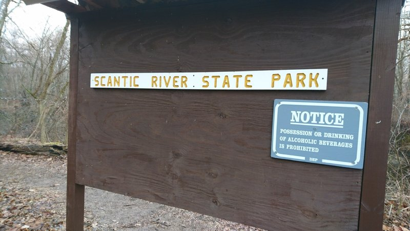 Keep an eye out for this sign marking the trailhead.