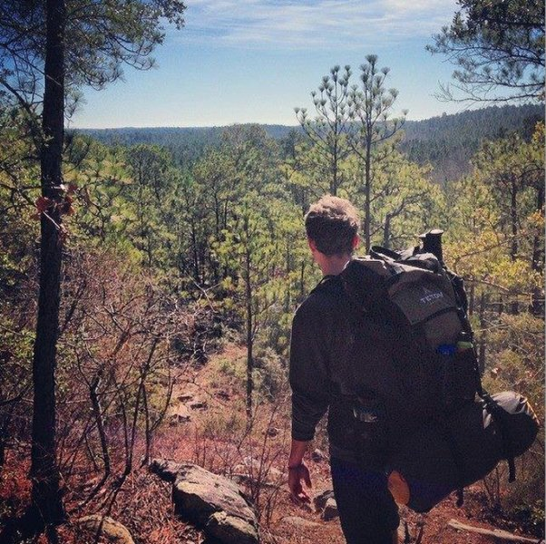 Backbone Trail offers incredible views into the surrounding hills.