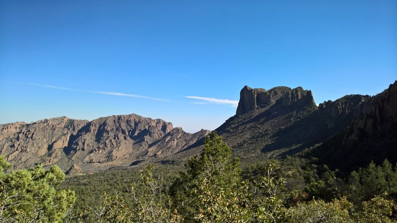Enjoy this view of Casa Grande to the north from the Pinnacles Trail.