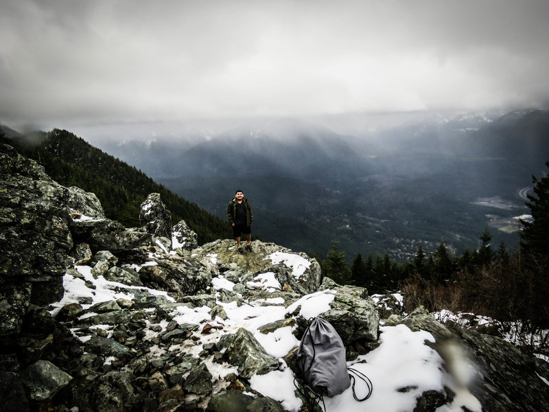 Winter brings a different atmosphere to Mt. Si.