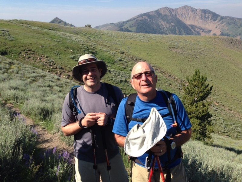 Pioneer Cabin Trail climbs through beautiful alpine fields often blanketed by wildflowers.