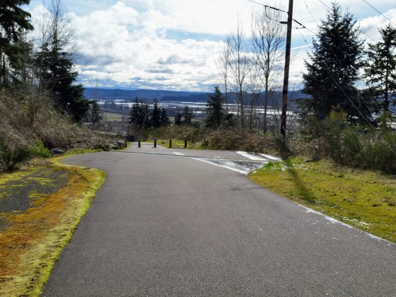 The Vista Ridge Trail lives up to its name, offering gorgeous views of the valley.